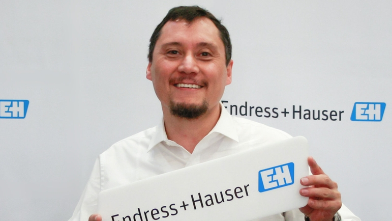 Isaías Vitela, Power & Energy Industry Manager de Endress+Hauser México